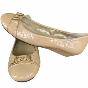 """Me Too """"Mica"""" Patent Leather Flats Shoes"""